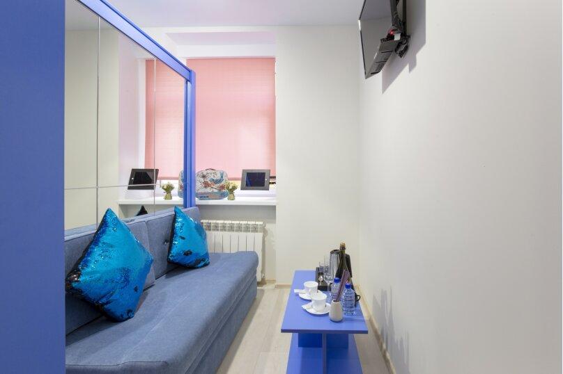 Одноместный номер с 1 большой кроватью, 4-я Советская улица, 7, Санкт-Петербург - Фотография 1