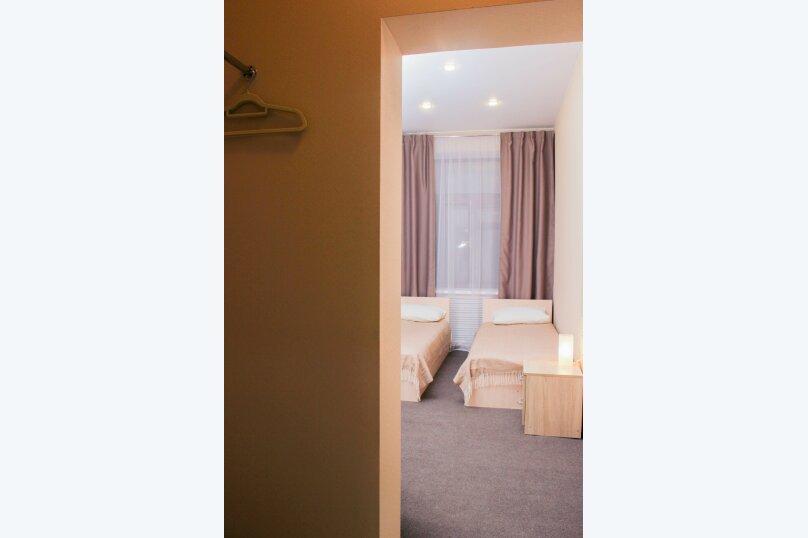 Стандартный двухместный номер с 2 кроватями, Галерная улица, 55, Санкт-Петербург - Фотография 2