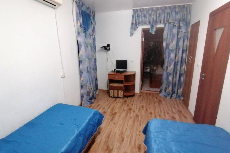 Двухместный номер с 1 кроватью или 2 отдельными кроватями, улица Самбурова, 82, Анапа - Фотография 1