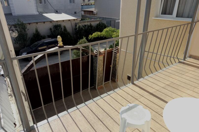 3-х местне номера со всеми условиями и с балконам , улица Академика Сахарова, 34, Судак - Фотография 3