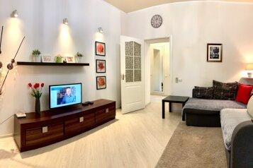 2-комн. квартира, 42 кв.м. на 3 человека, улица Лермонтова, 2, Севастополь - Фотография 1