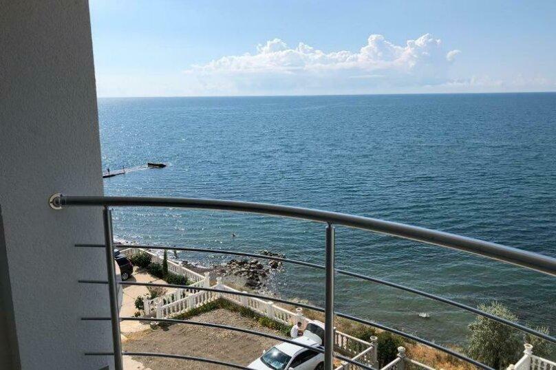 Люкс с видом на море, улица Лазурный Берег, 37, Морское - Фотография 20