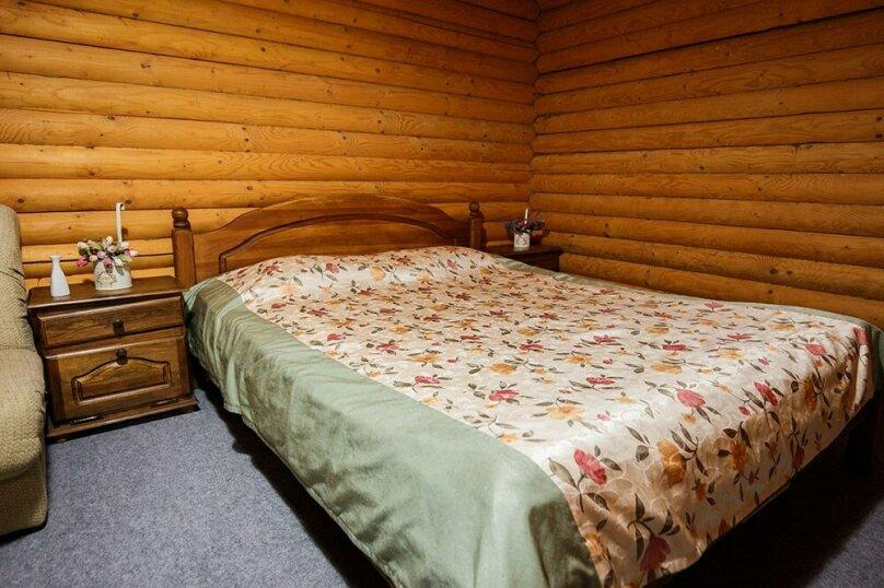 СРУБ 1-комнатный 2-местный с двухспальной кроватью, Куйбышева, 30А, Высокое - Фотография 1