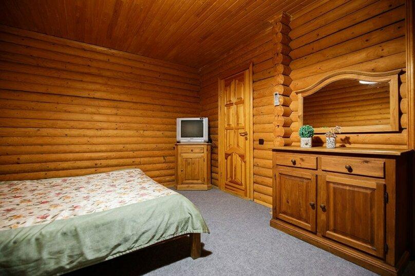 СРУБ 1-комнатный 2-местный с двухспальной кроватью, Куйбышева, 30А, Высокое - Фотография 2