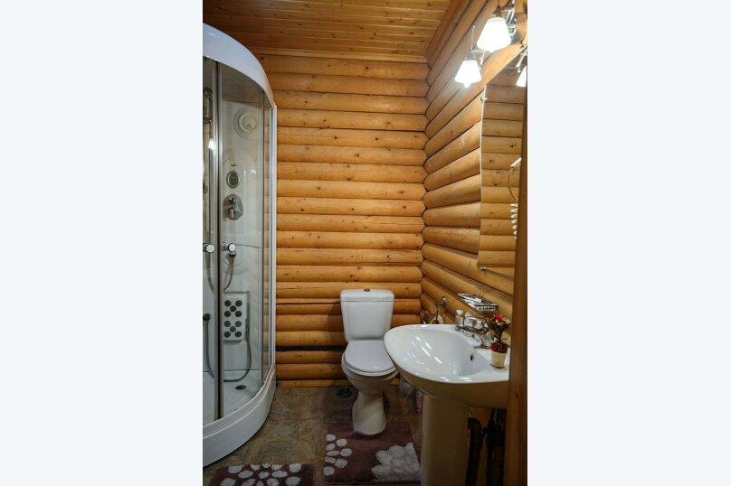 СРУБ 1-комнатный 2-местный с двухспальной кроватью, Куйбышева, 30А, Высокое - Фотография 5