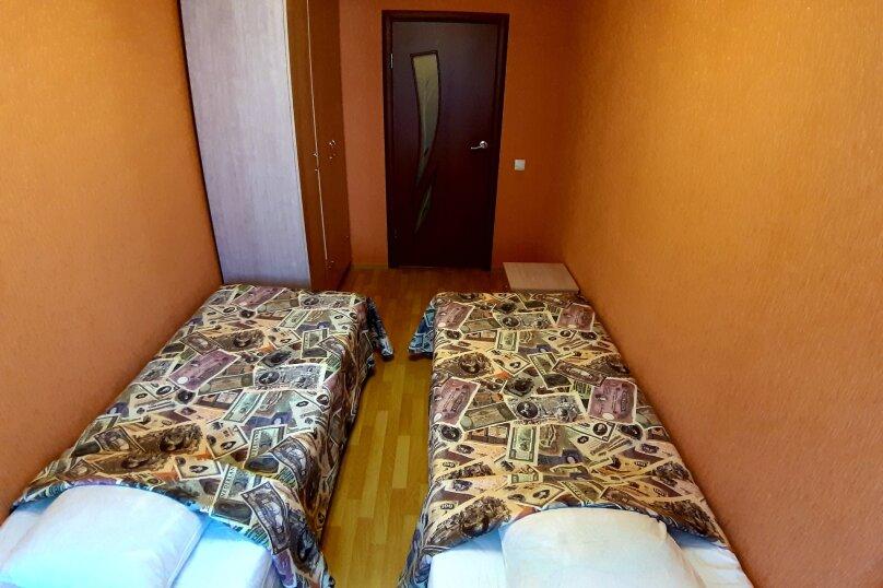 2-комн. квартира, 69 кв.м. на 7 человек, улица Кропоткина, 13А, Воронеж - Фотография 5