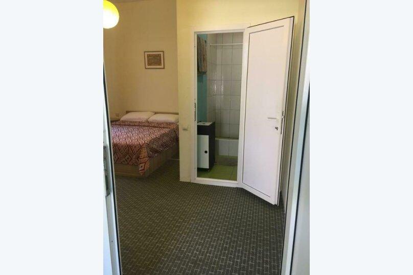 Двухместный номер с двуспальной кроватью и дополнительной кроватью, п. Молочный, б/н, Пицунда - Фотография 9