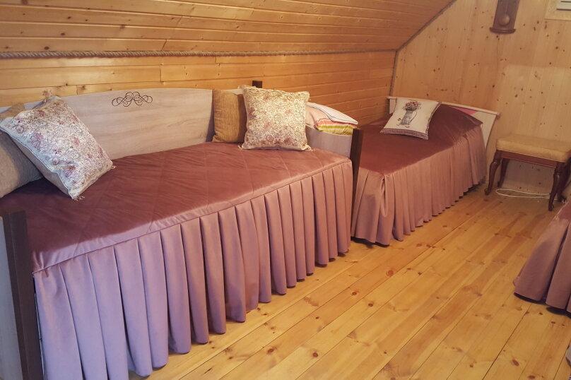 Деревянный двухэтажный домик в стиле Прованс в Лазаревском, 80 кв.м. на 7 человек, 2 спальни, улица Калараш, 70А, Лазаревское - Фотография 10