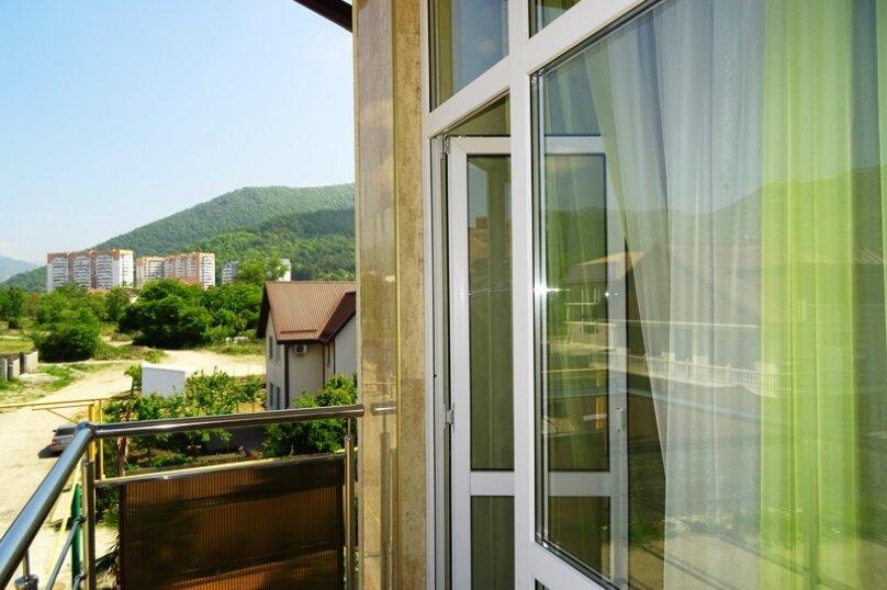2х-местный  с балконом, улица Сьянова, 28А, Лазаревское - Фотография 5
