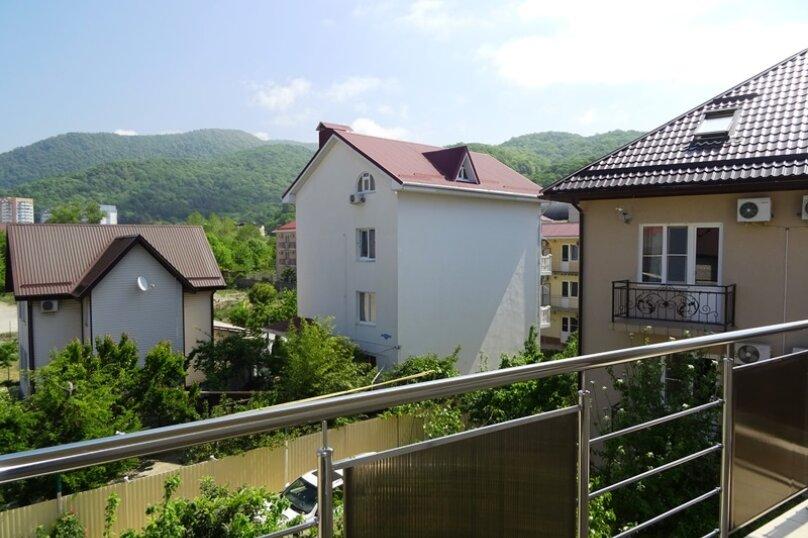 3х-местный  с балконом, улица Сьянова, 28А, Лазаревское - Фотография 5