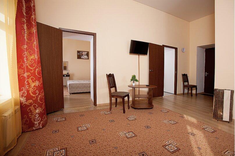 3-комн. квартира, 85 кв.м. на 6 человек, улица Герцена, 5, Кисловодск - Фотография 4