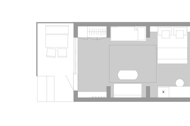 Студия 4-местная с террасой, Лазурная улица, 7, Оленевка - Фотография 6