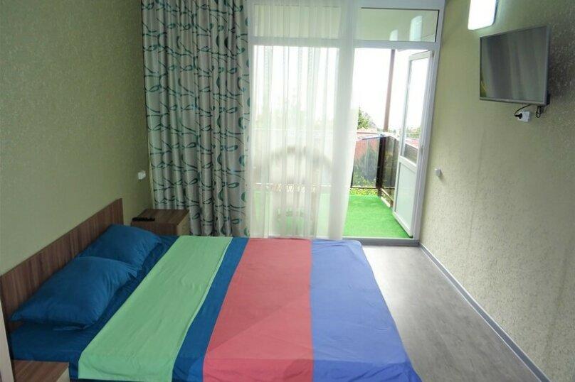 """""""2-х- комнатный номер с балконом"""" № 2, Красномаякская улица, 8А, Симеиз - Фотография 3"""