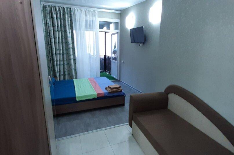 """""""2-х- комнатный номер с балконом"""" № 2, Красномаякская улица, 8А, Симеиз - Фотография 11"""