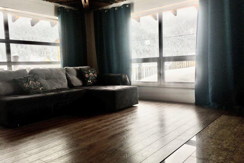 Дом - апартаменты с мезонином , 65 кв.м. на 4 человека, 1 спальня, Озёрная улица, 8, Аскат - Фотография 24