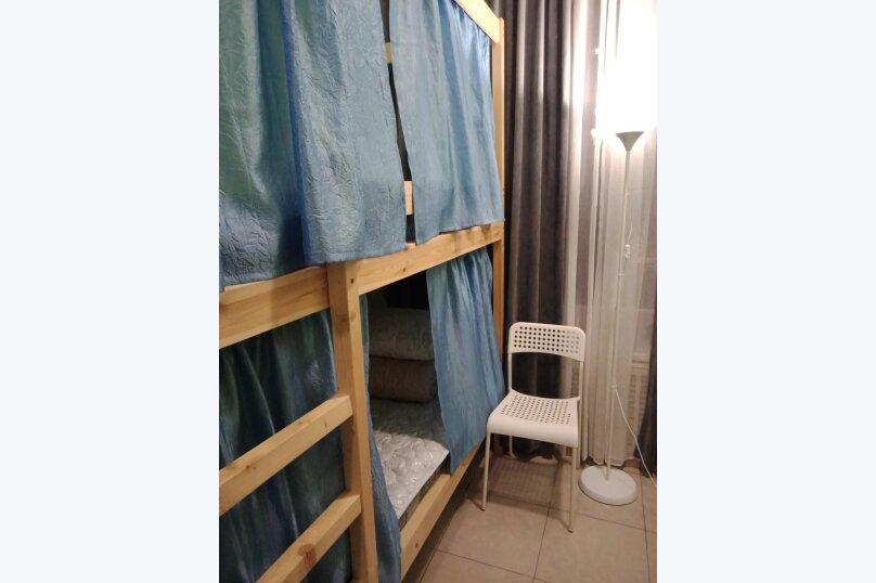 Кровать в женском  4-х номере, Дубининская улица, 11/17с2, Москва - Фотография 1