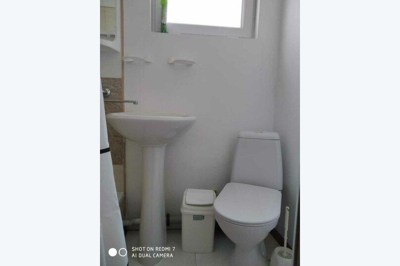 Двухкомнатный номер с ванной комнатой, СТ Мираж, Виноградная, Б1, посёлок Орловка, Севастополь - Фотография 5