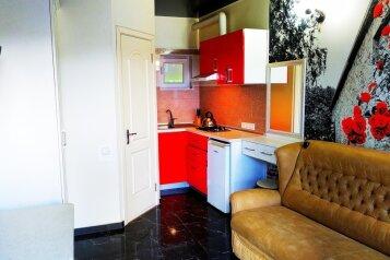 Апартаменты-студия на 2 человека, 1 спальня, Краснофлотский переулок, 11, Алушта - Фотография 1