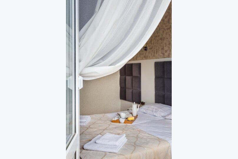 2-х местный полулюкс с балконом, улица Золотые Пески, 15, Витязево - Фотография 4