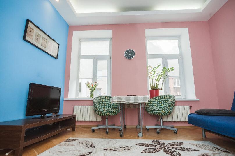 3-комн. квартира, 70 кв.м. на 6 человек, улица Моисеенко, 4, Санкт-Петербург - Фотография 8
