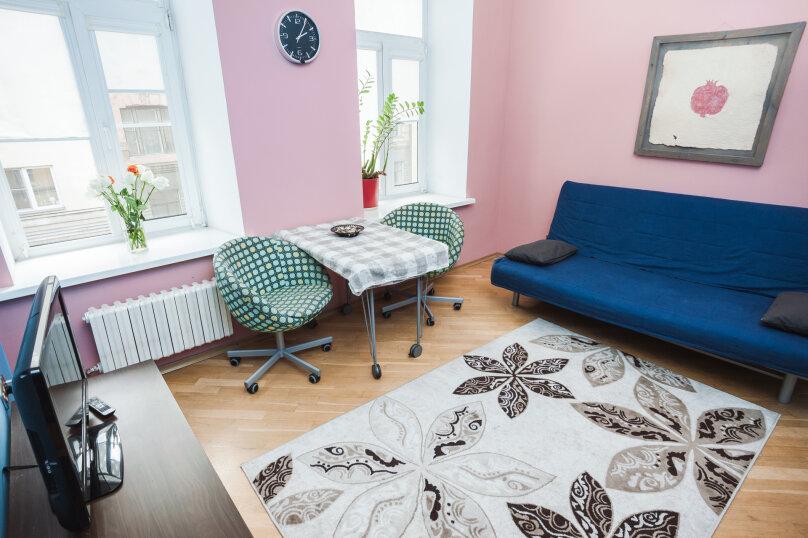 3-комн. квартира, 70 кв.м. на 6 человек, улица Моисеенко, 4, Санкт-Петербург - Фотография 10