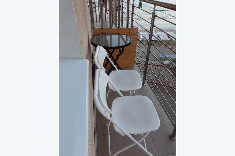 1-комн. квартира, 25 кв.м. на 4 человека, Портовая улица, 14, Джубга - Фотография 6