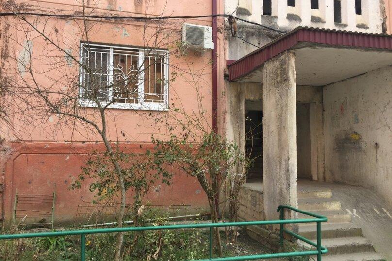 2-комн. квартира, 40 кв.м. на 4 человека, Массив Гумиста, Гумистинская улица, 10, Сухум - Фотография 8