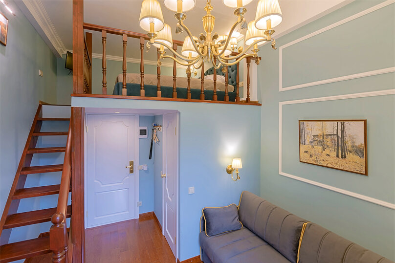 1-комн. квартира, 12 кв.м. на 4 человека, Инженерная улица, 7, Санкт-Петербург - Фотография 1