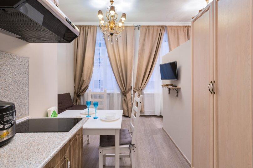 1-комн. квартира, 19 кв.м. на 4 человека, Гороховая улица, 32, Санкт-Петербург - Фотография 1