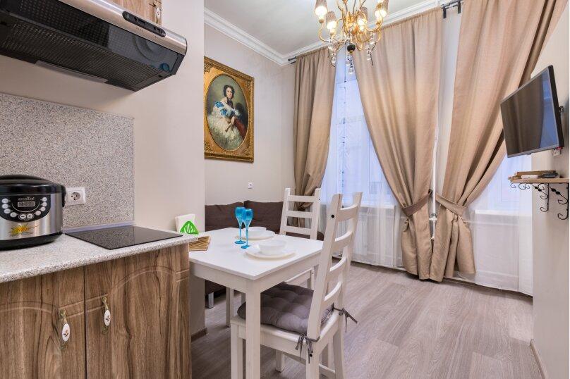 1-комн. квартира, 19 кв.м. на 4 человека, Гороховая улица, 32, Санкт-Петербург - Фотография 2