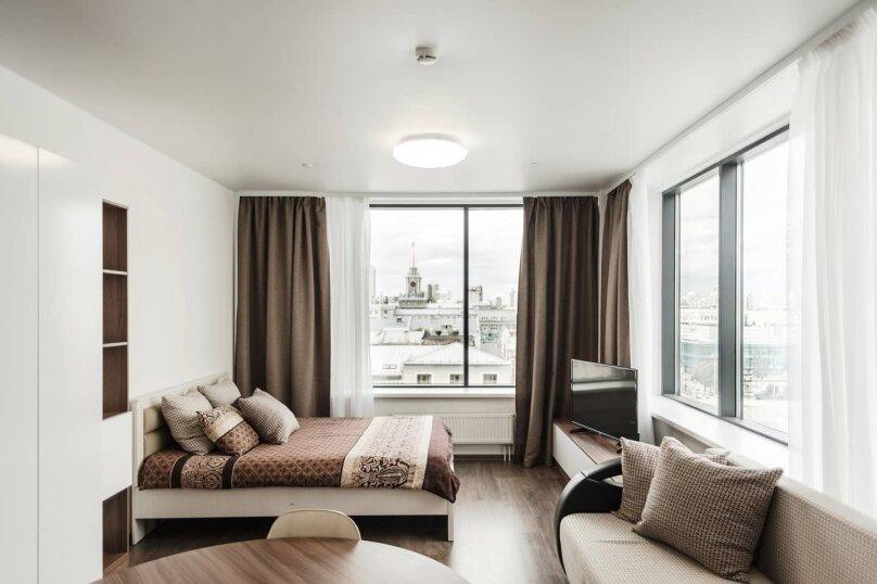 1-комн. квартира на 4 человека, улица Малышева, 42А, Екатеринбург - Фотография 27