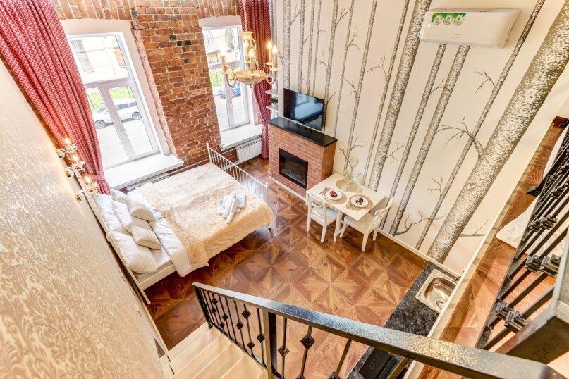 1-комн. квартира, 24 кв.м. на 4 человека, Петропавловская улица, 8, Санкт-Петербург - Фотография 1