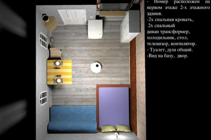 Эконом 4х местный , Черноморская, 1/1Б, Джанхот - Фотография 2