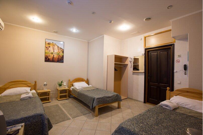 Бюджетный трехместный номер с 3 отдельными кроватями, улица Заки Валиди, 64/2, Уфа - Фотография 1