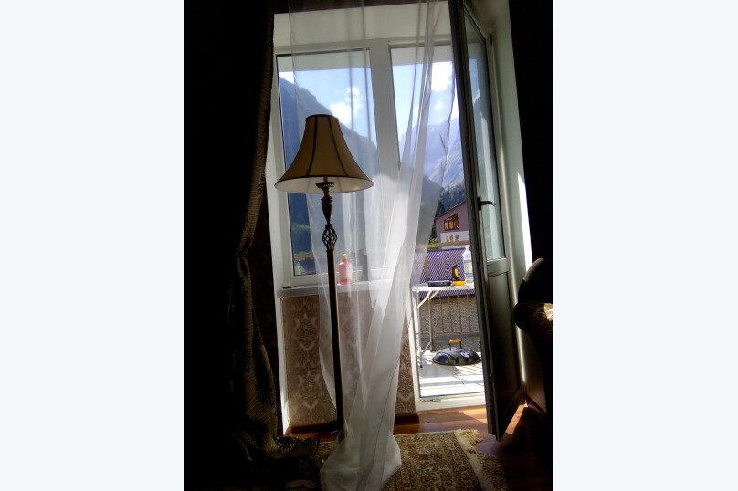 1-комн. квартира, 35 кв.м. на 4 человека, Аланская улица, 25, Домбай - Фотография 8