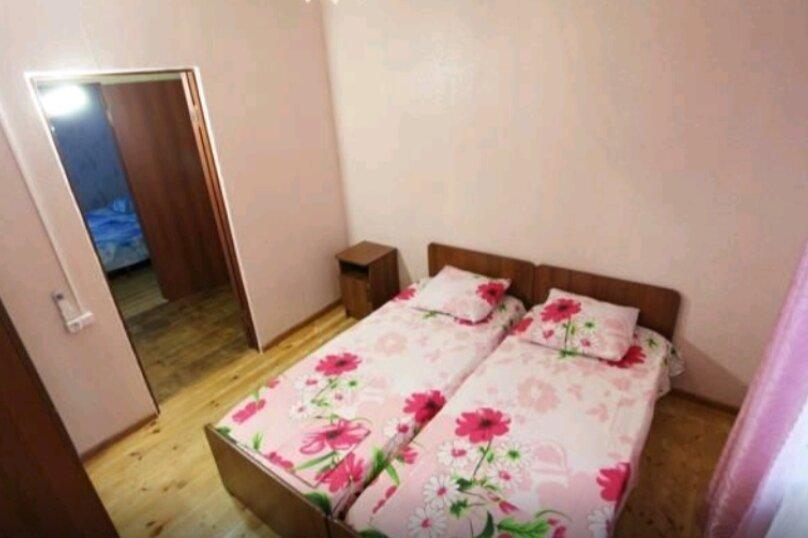 Двухместный номер с 2 отдельными кроватями с кондиционером, село Псырцха, Сухумское шоссе, 174, Новый Афон - Фотография 1
