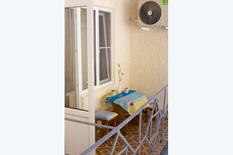 Стандарт с балконом 1 комнатный с 2-х  спальной кроватью, трасса А-147, 15-й километр, Лермонтово - Фотография 3