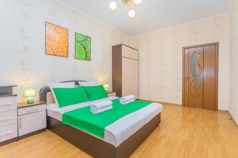 2-комн. квартира, 72 кв.м. на 6 человек, улица Монтажников, 12, Краснодар - Фотография 2