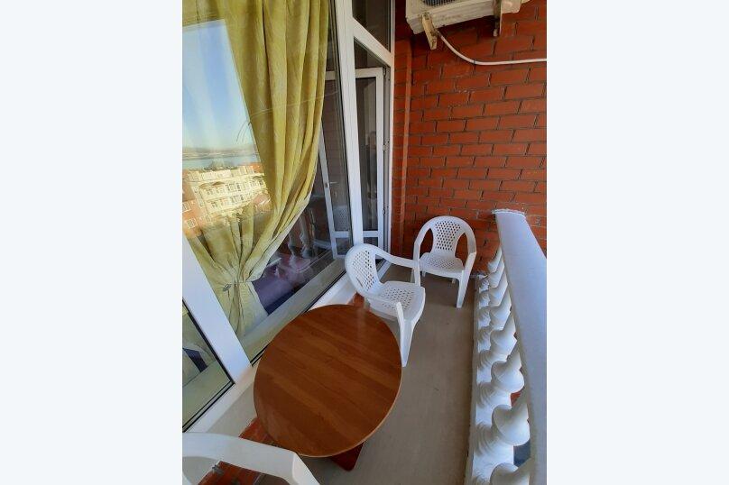 стандартная 4-х местная комната с видом на море, Приморская улица, 14, Геленджик - Фотография 2