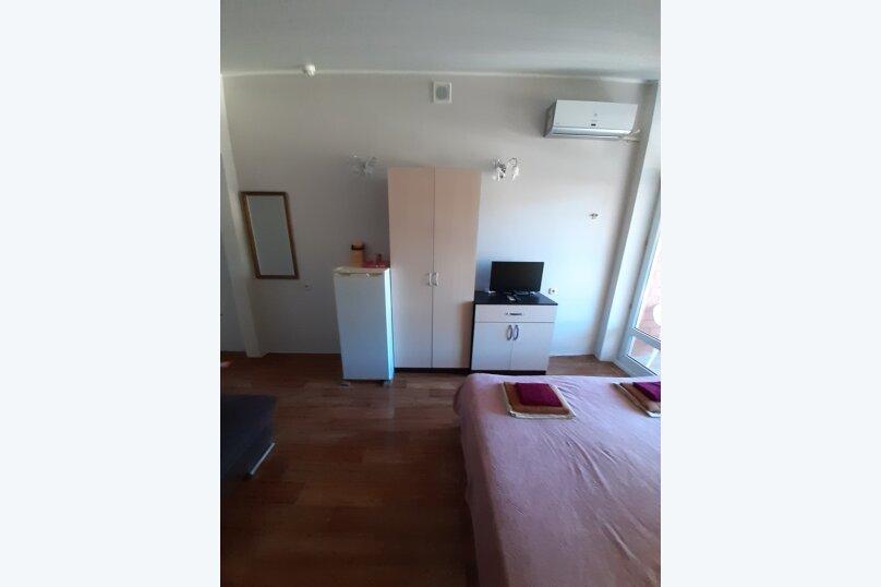 стандартная 4-х местная комната с видом на море, Приморская улица, 14, Геленджик - Фотография 3