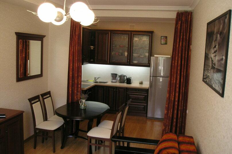 2-комн. квартира, 55 кв.м. на 5 человек, Прибрежная улица, 7, Партенит - Фотография 1