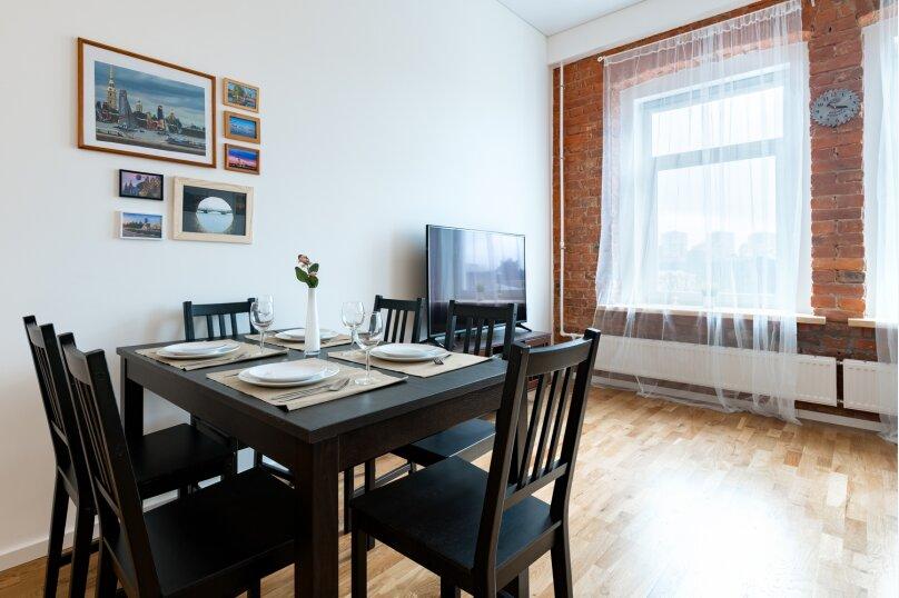 5-комн. квартира, 110 кв.м. на 10 человек, Курляндская улица, 11, Санкт-Петербург - Фотография 8