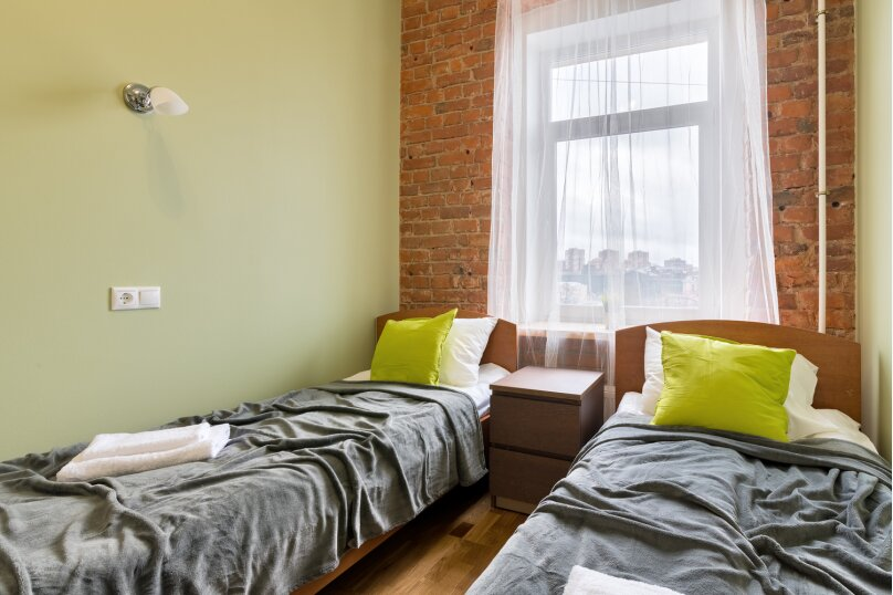 5-комн. квартира, 110 кв.м. на 10 человек, Курляндская улица, 11, Санкт-Петербург - Фотография 13