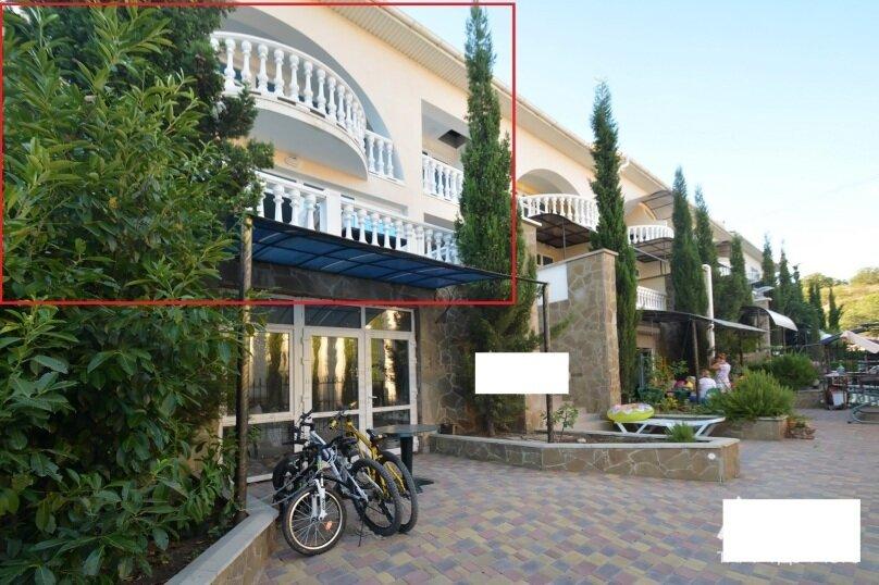 Таунхаус в 100 метрах от моря, 140 кв.м. на 10 человек, 3 спальни, Судакское шоссе, 4а, Алушта - Фотография 13