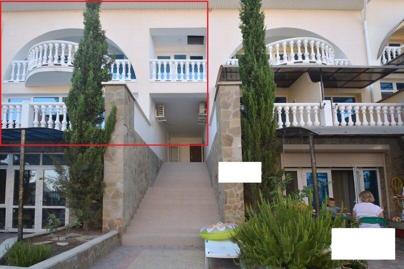 Таунхаус в 100 метрах от моря, 140 кв.м. на 10 человек, 3 спальни, Судакское шоссе, 4а, Алушта - Фотография 15