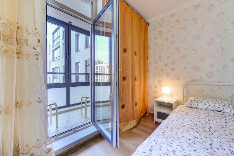3-комн. квартира, 81 кв.м. на 7 человек, Полтавский проезд, 2, Санкт-Петербург - Фотография 6