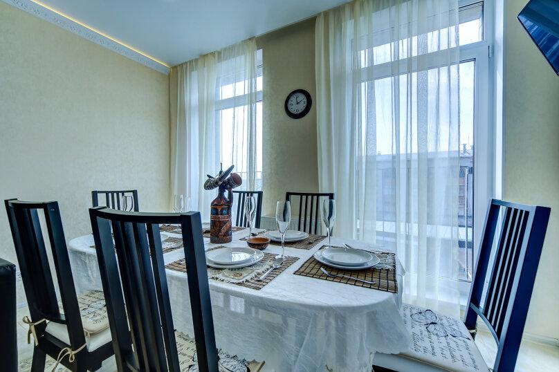 3-комн. квартира, 81 кв.м. на 7 человек, Полтавский проезд, 2, Санкт-Петербург - Фотография 1