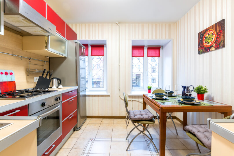 2-комн. квартира, 60 кв.м. на 7 человек, улица Рылеева, 39, Санкт-Петербург - Фотография 5