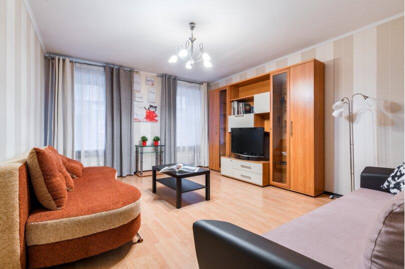 2-комн. квартира, 60 кв.м. на 7 человек, улица Рылеева, 39, Санкт-Петербург - Фотография 17