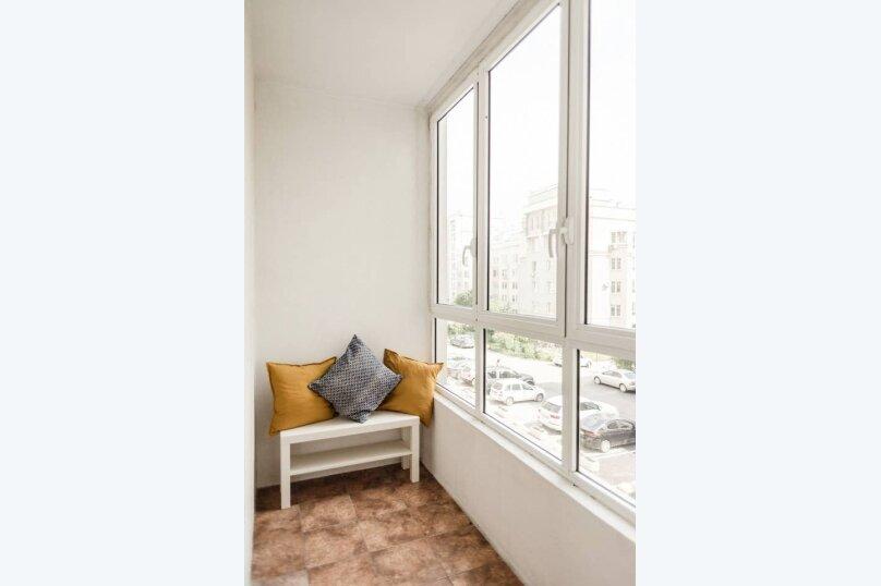 1-комн. квартира, 44 кв.м. на 4 человека, улица Щорса, 35, Екатеринбург - Фотография 15